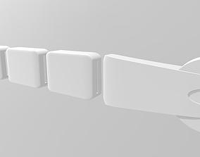 Gial Ackbar Admiral Ackbar Belt 3D print model