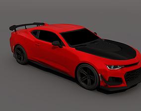 3D model 2018 Chevrolet Camaro ZL1