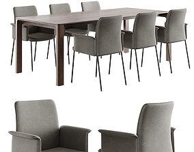 3D christine kroencke porto table jaro 200 chair