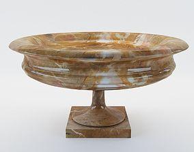 Marble dish - Italy - 19th century 3D