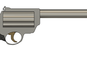 Revolver Lawful 3D printable model offense