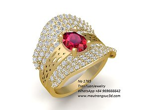 1765 Diamond Ring 3D print model