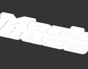 MARKBASS replacement logo for your 3D printable model