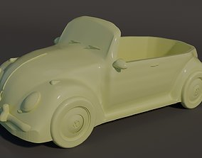 3d Classic Beetle ready to print volkswagen