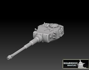 Tiger Tank Turret 3D printable model