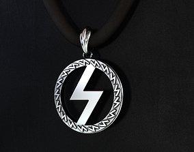 talisman runes of power 3D printable model