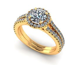 Wedding Ring R343 3D print model