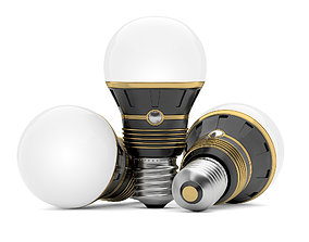 3D Light bulb Innovative flashlight