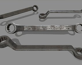 wrench 1 3D asset