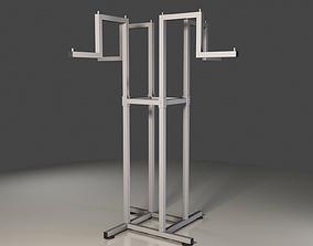 3D metal Clothes Hanger Stand