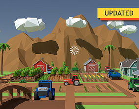 SimplePoly Farm - Low Poly Assets low-poly