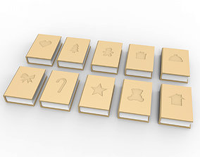 Book jewelry gift box 3D printable model