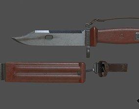 AK knife 3D asset