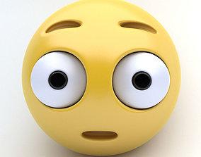 3D asset Emoticon SURPRISED