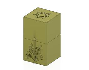 Gift Jewelry Box small secret box 3D print model