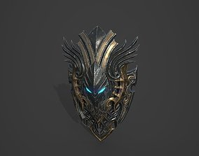 Shield Models 01 and 02 3D asset