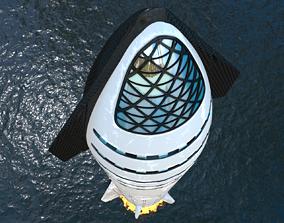 3D model Rocket SpaceX Starship