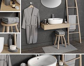 accessories 3D model Bathroom 6
