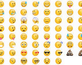 3D 31 Emoji pack collection