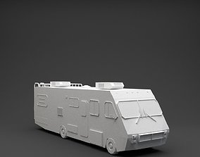 Breaking Bad Fletwood Rv 1986 3D model