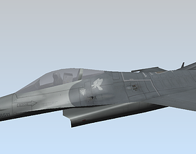 low-poly F-16C Fighting Falcon Low poly 3D model