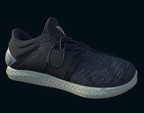 Trainers blue grey 3D model