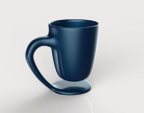 breakfast coffee cup 3D print model