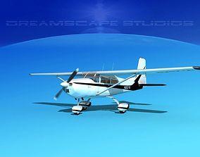Cessna 172 Skyhawk 1958 V01 3D