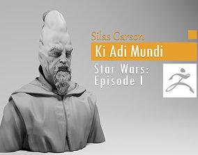 Silas Carson - Ki Adi Mundi - Star 3D printable model 2