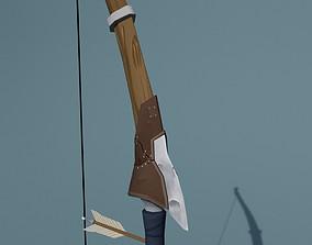 Bow handpainted reskin 3D model