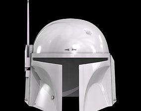 Star Ware Boba Fett Helmet 3D print model