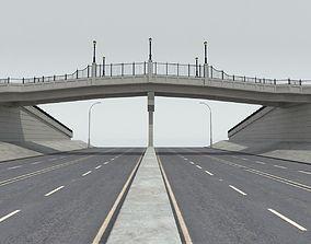 3d 3D Pedestrian Bridge