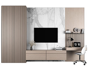 3D TV stand and workplace