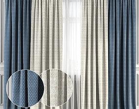 Curtain Set 134 3D model