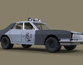 3D model Vehicle from Mad Max II movie