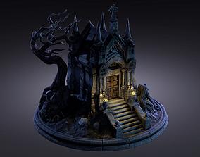Old Crypt 3D asset