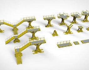 Sci Fi Modular Environment 8 3D