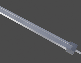 Guts sword from Berserk 3D model