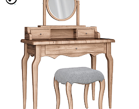 Dressing table Sienna Mirror casa Tocador pequeno 3D asset