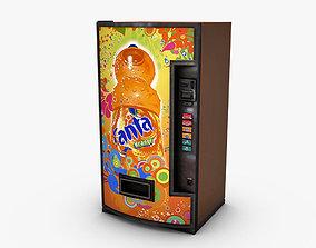 3D model Vending Machine Fanta