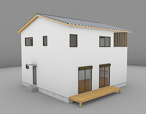 realtime House model for background 23