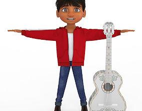 Cartoon Boy 3D model body