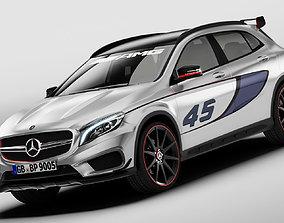 Mercedes Benz GLA 45 AMG 3D model