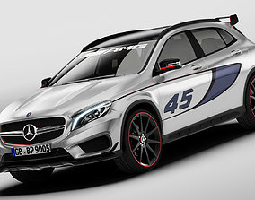 3D Mercedes Benz GLA 45 AMG