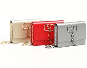 Valentino Garavani Small Vcase Leather 3D model