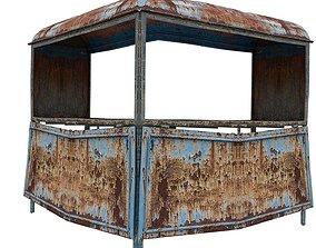 Post Box 01 03 P 3D asset