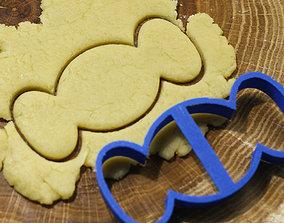 3D print model Candy cookie cutter for