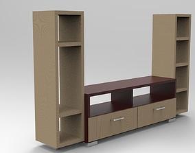 Bookcase 10 3D print model