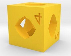 Dice 3D printable model dice