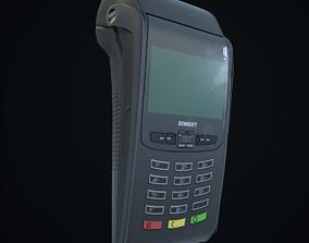 3D model POS terminal-Low poly